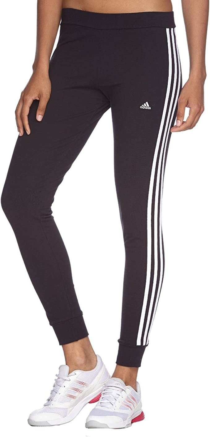 adidas Damen lange Tights Essentials 3 Stripes