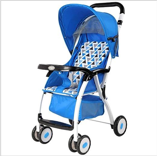 SHOWGG Carro de bebé, sombrilla reclinable para paisajes Altos ...