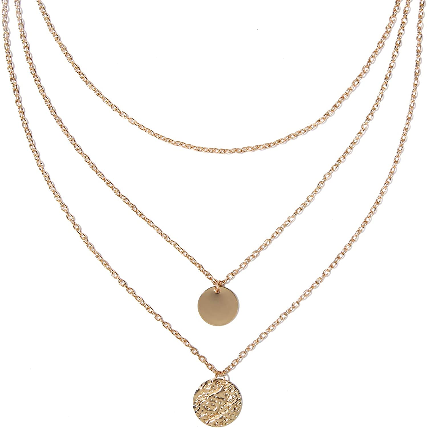 Necklace  Excellent 14K Gold Filled  Pendant Jewelry fashion Coin Design