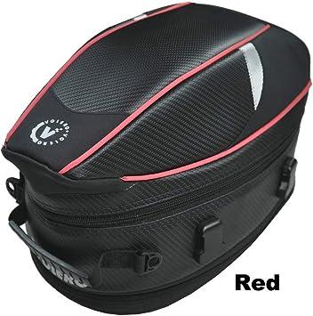 Waterproof Motorcycle Rear Sport Back Seat Car Bag Scooter Helmet Pack Durable