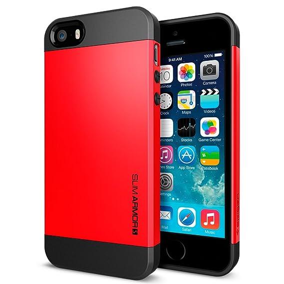 super popular 80ceb ebd07 Spigen Slim Armor iPhone 5S Case for iPhone 5S/5 - Crimson Red