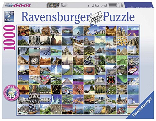 1000 Places (Ravensburger 99 Beautiful Places on Earth Jigsaw Puzzle (1000-Piece))