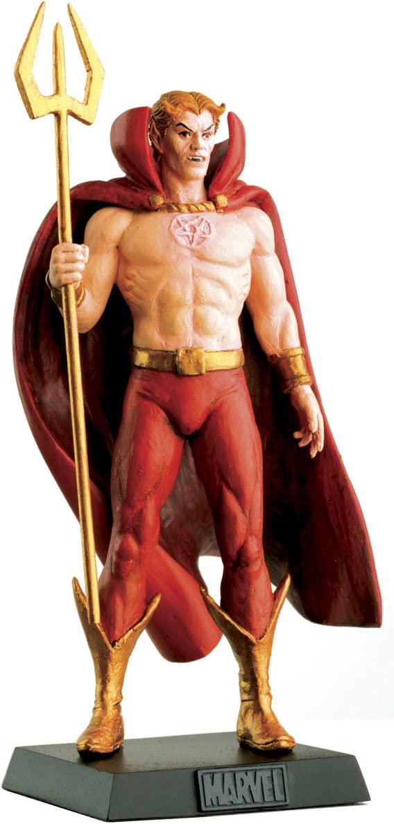 Eaglemoss Classic Marvel Figurine Collection 134 Hellstorm Son of Satan Lead Figurine and Magazine