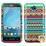 MyBat Cell Phone Case for LG D415 (Optimus L90) - Retail Packaging - Teal