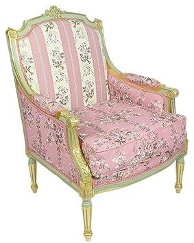 Casa-Padrino sillón de salón Trono Imperio Barroco con ...