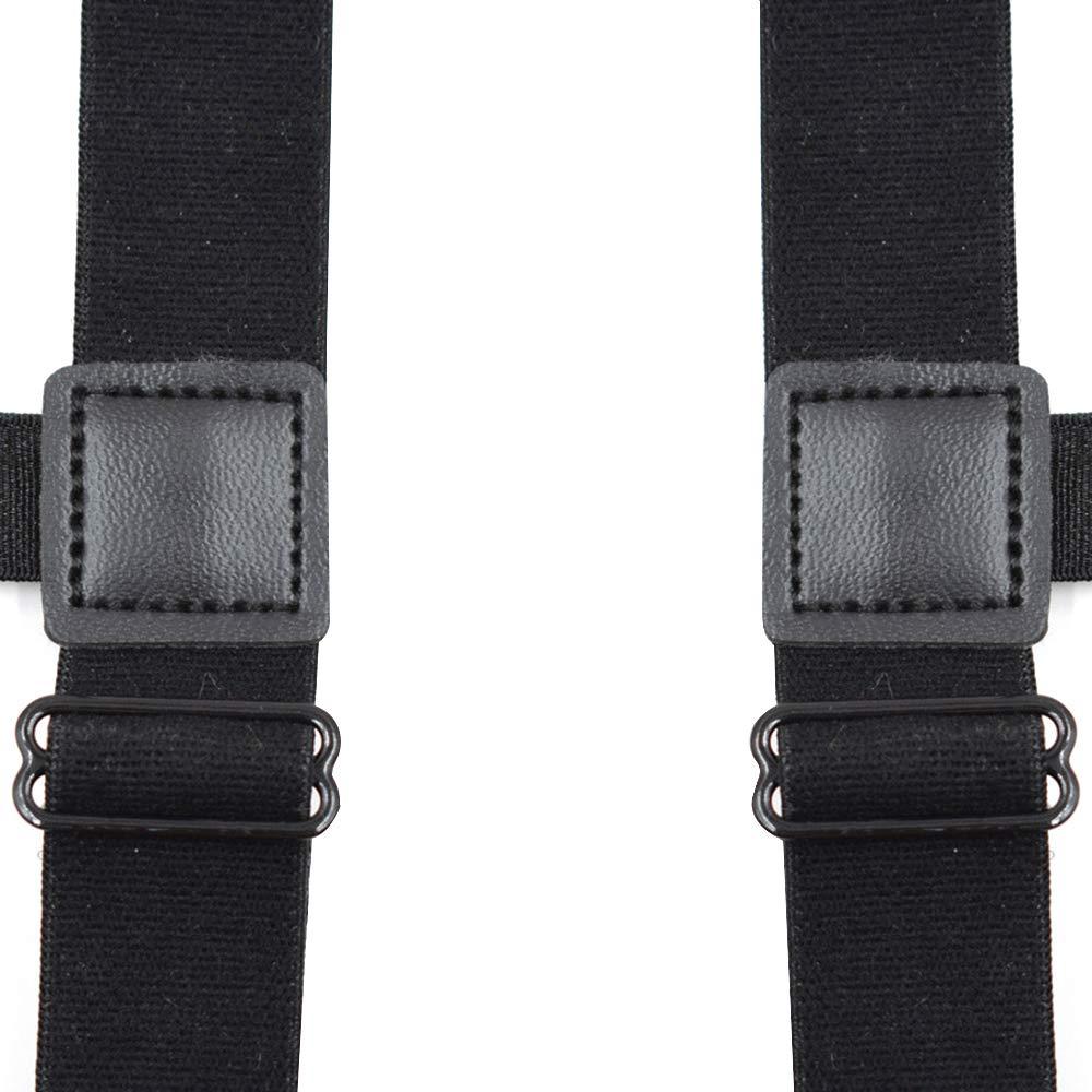 2.5cm A# 1 par de ligas el/ásticas ajustables para camisas con bloqueo clips antideslizantes 17.5