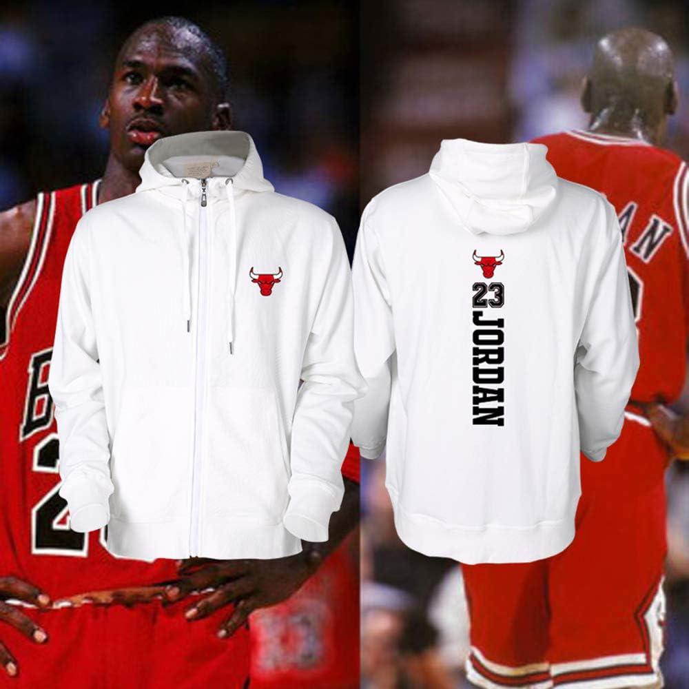 Chicago Bulls 23 Jordan Basketball Hoodie Strickjacke Herren 9