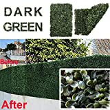 Artificial Grass, Realistic Artificial Grass Rug Wall Decoration Fake Lawn, Indoor Outdoor Landscape Artificial Turf for Pets, 12 in x 7 in x 4 in