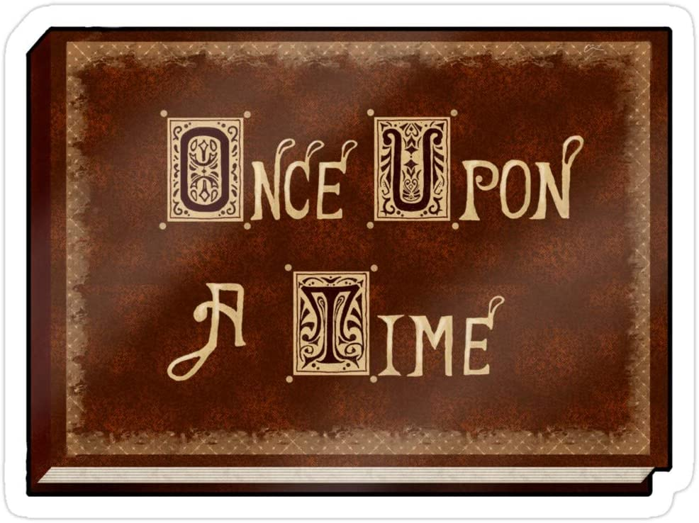 Story Storm Store Once Upon A Time Stickers (3 Pcs/Pack)