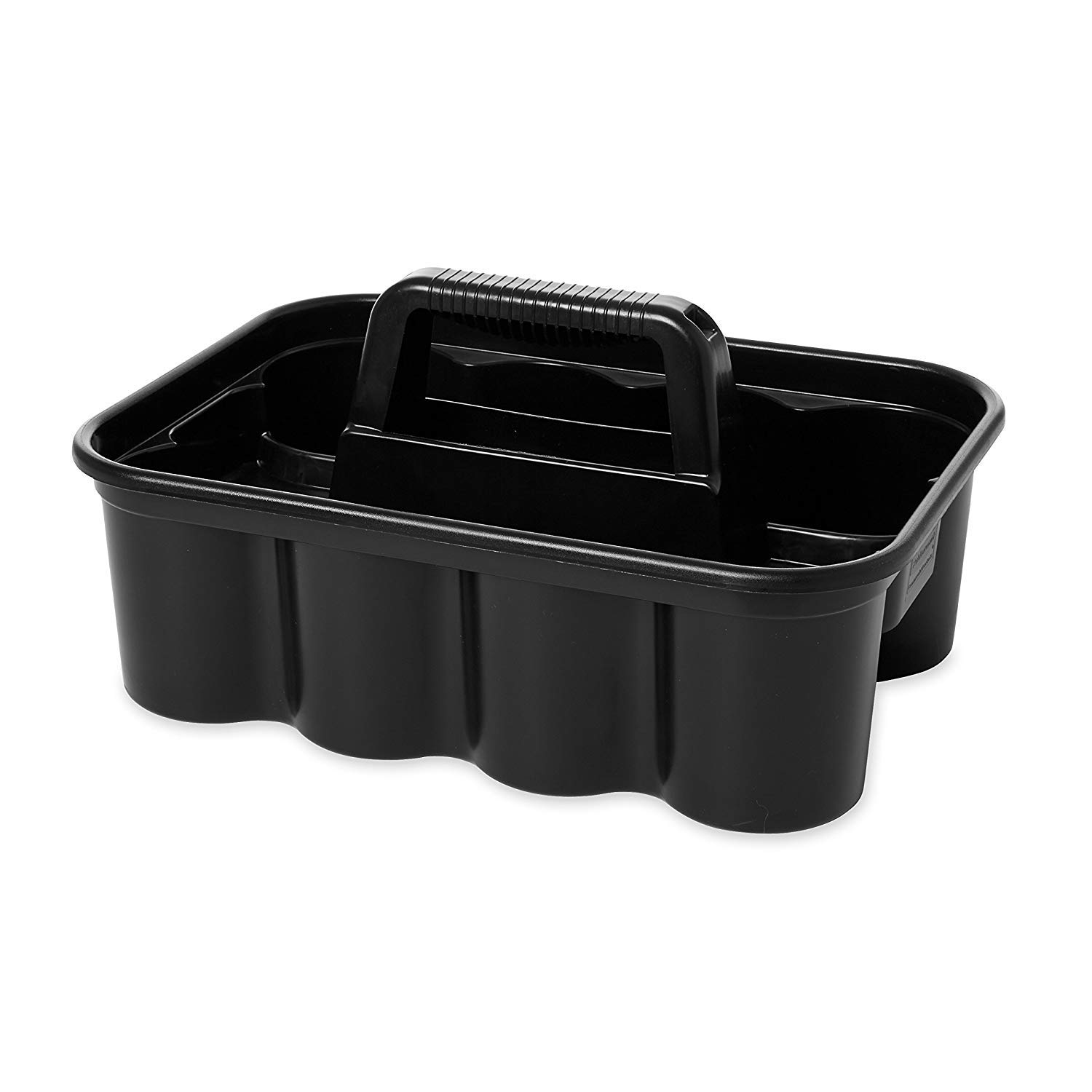 Deluxe Carry Cleaning Caddy, Black (FG315488BLA) by RubbermaidComercialProducts (Image #3)