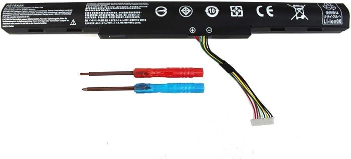 BE·SELL New AS16A5K AS16A7K AS16A8K Laptop Battery for Acer Aspire E15 E5-475 E5-475G 523G 553G 573G 575T 575G 774 774G E5-575 E5-575-59QB E5-575G-57D4 E5-576G-5762