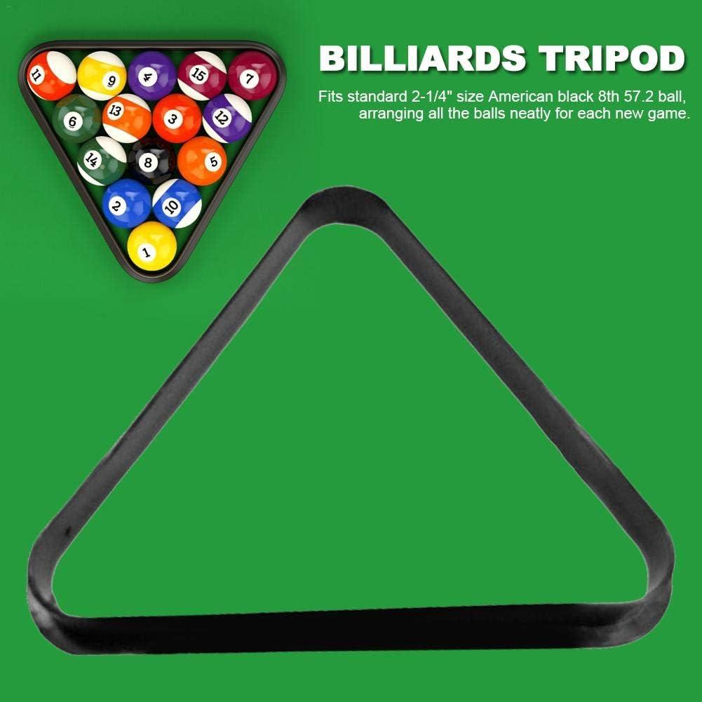 yummyfood Triangulo para Billar Modelo Triángulo De Billar, Triángulo De Plástico Indestructible con Bordes Redondeados Reforzados Marco De Bola De Triángulo: Amazon.es: Deportes y aire libre