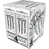 Monster Energy, Ultra Zero, 473mL cans, Pack of 4