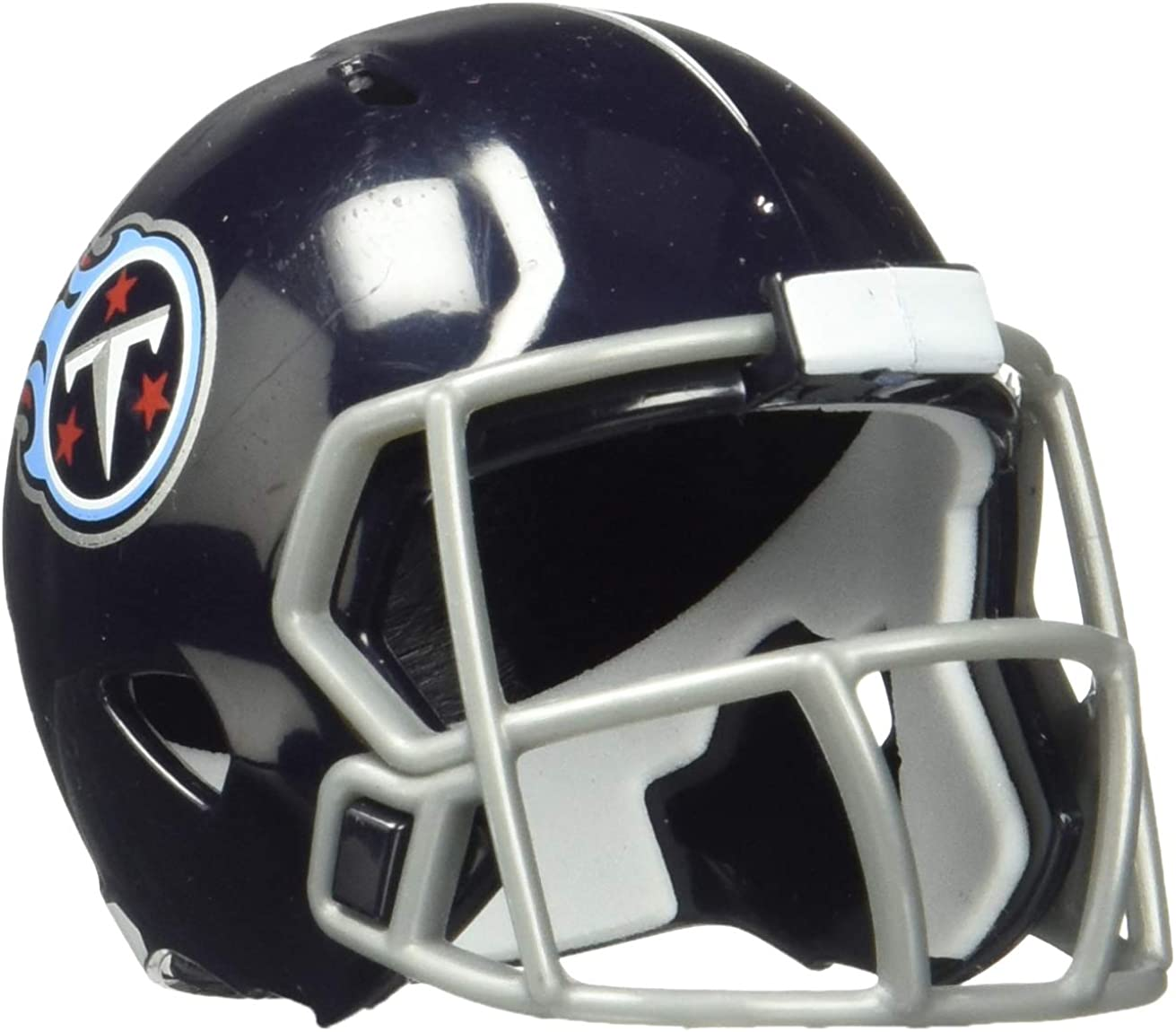 Amazon Com Riddell Nfl Tennessee Titans Pocket Pro Speed Helmet Team Colors One Size Clothing