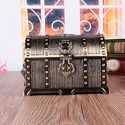 Julytong Caja de joyas antiguas de souvenirs artesanales los ...