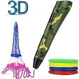 Zdatt 3D Pen PLA Filament Refills, Professional 3D Drawing Pens Bonus with PLA Filament Pack 3D Printing Pen is Perfect Gift for Kids Adults Arts Crafts Model DIY, Non-Toxic