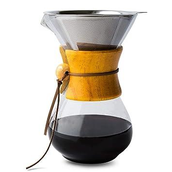 Amazon.com: Comfify cafetera con jarra de vidrio de ...