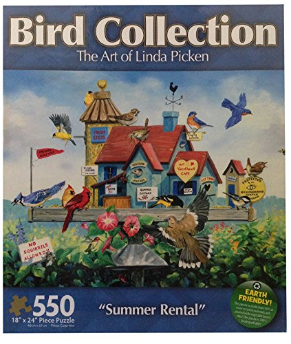 The Art of Linda Picken Summer Rental 550 Piece Jigsaw - Linda Summer