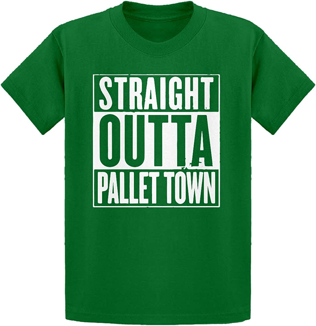 Indica Plateau Straight Outta Pallet Town Kids T-Shirt