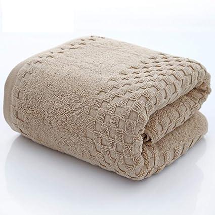ZYJY Toallas de baño, algodón Peinado, Toallas de baño de algodón Grueso, una