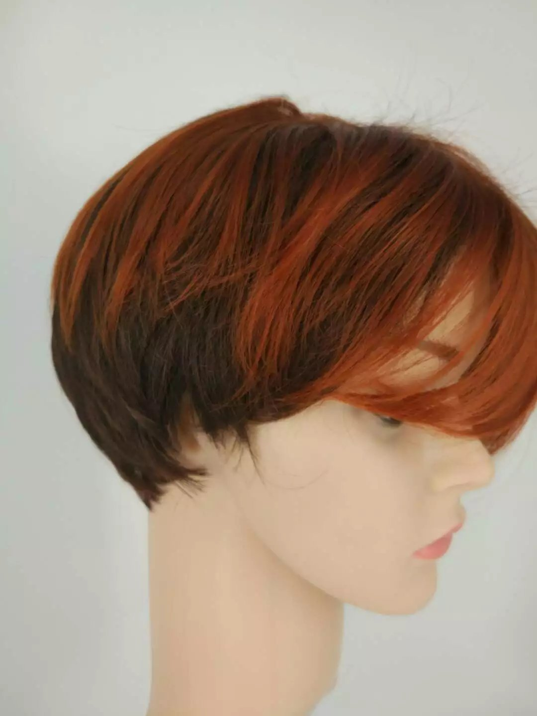 Amazon.com : New Arrival Wigs Perruque Synthetic Women Pelucas Sinteticas Short Straight Wig : Beauty