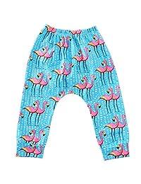 Annvivi Baby Boys Girls Kids Toddler Cotton Trousers Harem Pants Sport Jogger