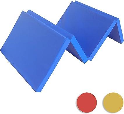 tapis de gymnastique bleu wb 1