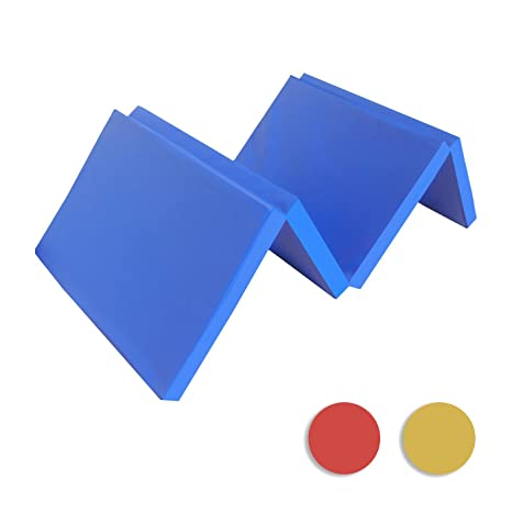 Martial Arts Judo washable PU Leather non slip Stretching NiroSport Gymnastics Mat 150 x 100 x 8 cm Thick Gym Tumbling Exercise Crash Landing Panel for Home /& Outdoor