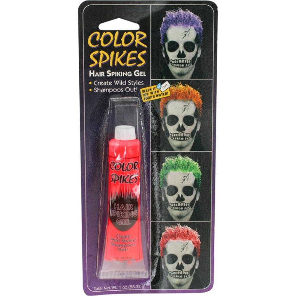 Costume Red Colored Hair Gel