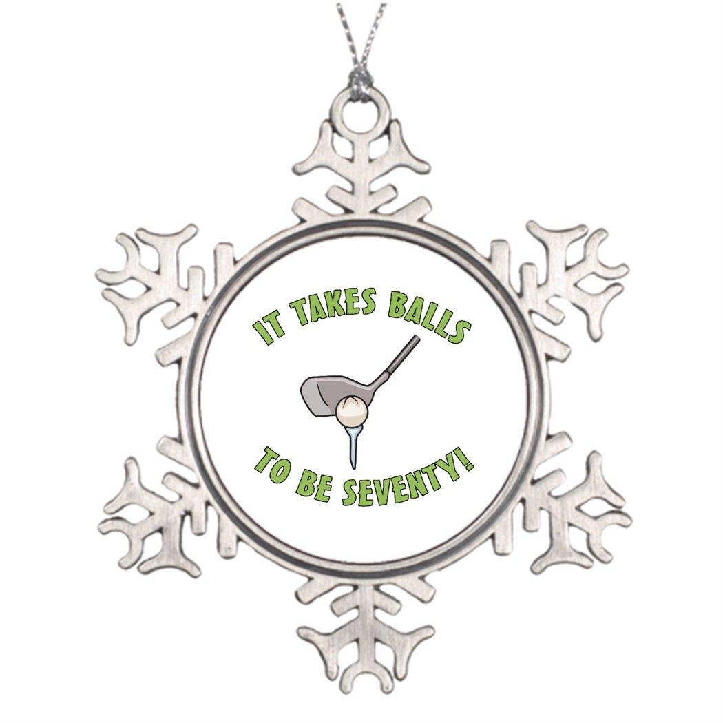 Amazon.de: personalisierbar Weihnachtsbaum Dekoration Zum 70 ...