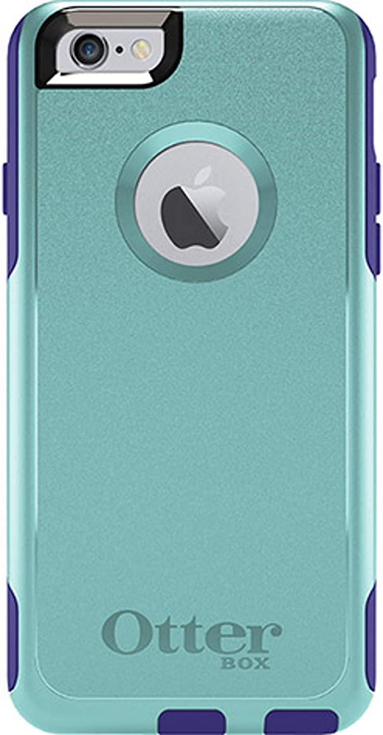 OtterBox Commuter Series Case for iPhone 6S and iPhone 6 (NOT Plus) - Non-Retail Packaging - Aqua Blue/Liberty Purple