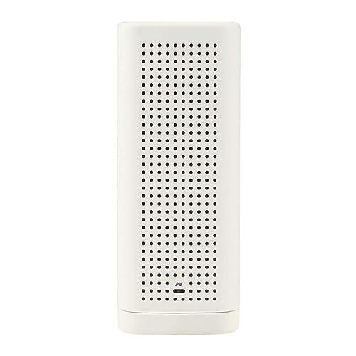 シンプルでインテリアになじむ無印良品「手回し充電ラジオ」