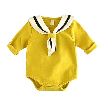 Bebé Niña Mono Bodies - Algodón Ropa bebé, Recién nacido bebé niña mameluco mono trajes