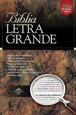 Biblia Letra Grande (Spanish Edition) Large Print