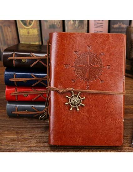 MPLG Agenda Del Cuaderno Pirata A5 Con Cuaderno De Tapa De ...