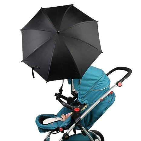 Sombrilla para cochecito de bebé, cochecito, silla de paseo y silla de paseo,