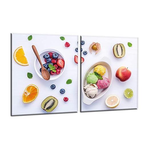 Compra decorwelt | para Cubrir la vitrocerámica Frutas ...