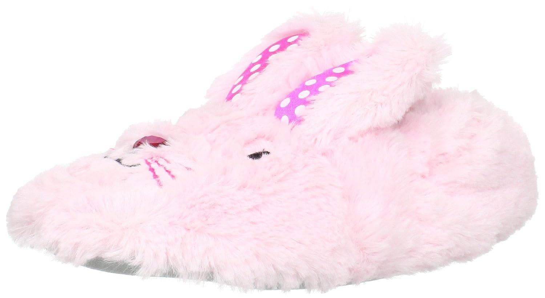 Stride Rite Girls' Fuzzy Bunny Slippers Fuzzy Bunny - K