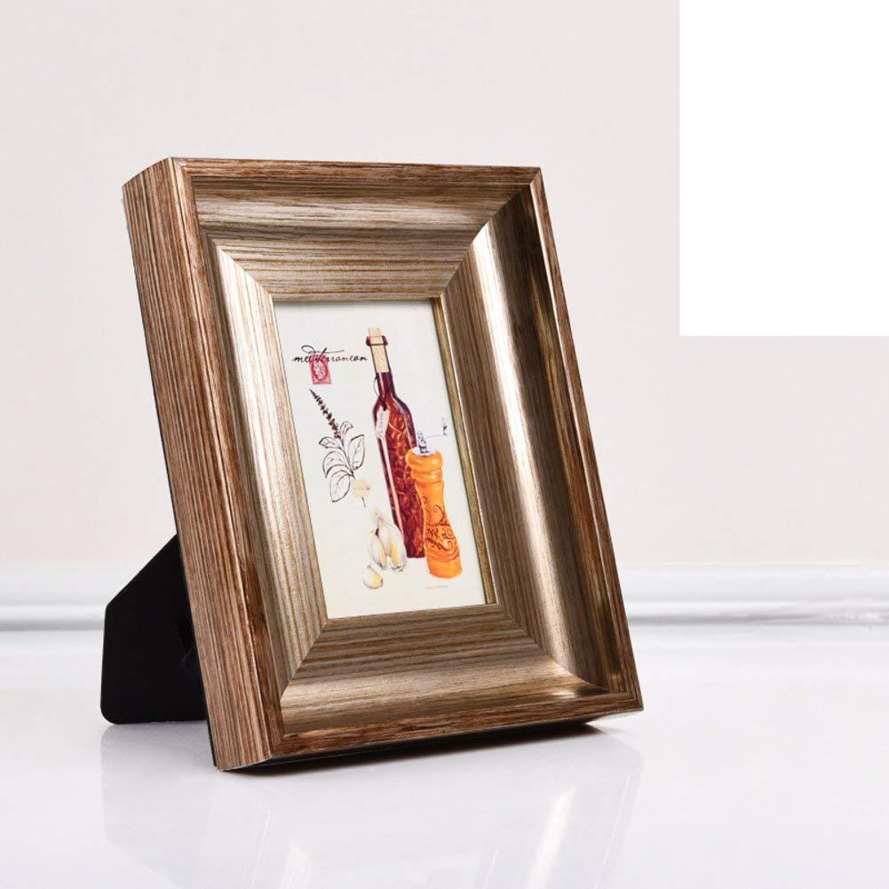 Der European Retro Photo Frame, Set up Children's Photo Frame Wall-Mounted Photo Frame (Color : A, Size : 21.2x26.2cm(8x10inch))