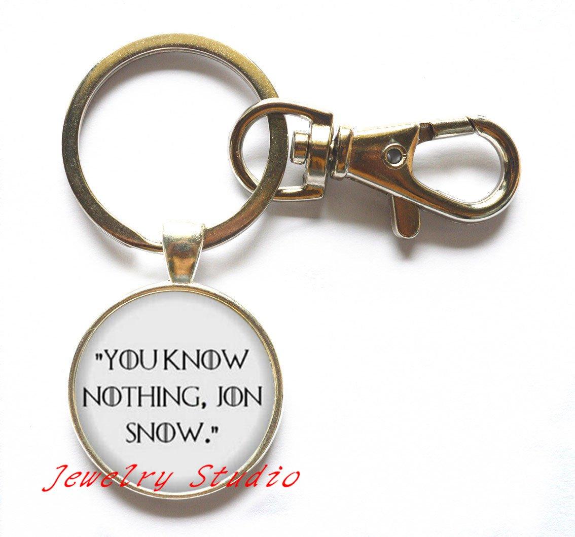 Encantador Fashion llavero y # xFF0 C; No Sabes Nada Jon ...