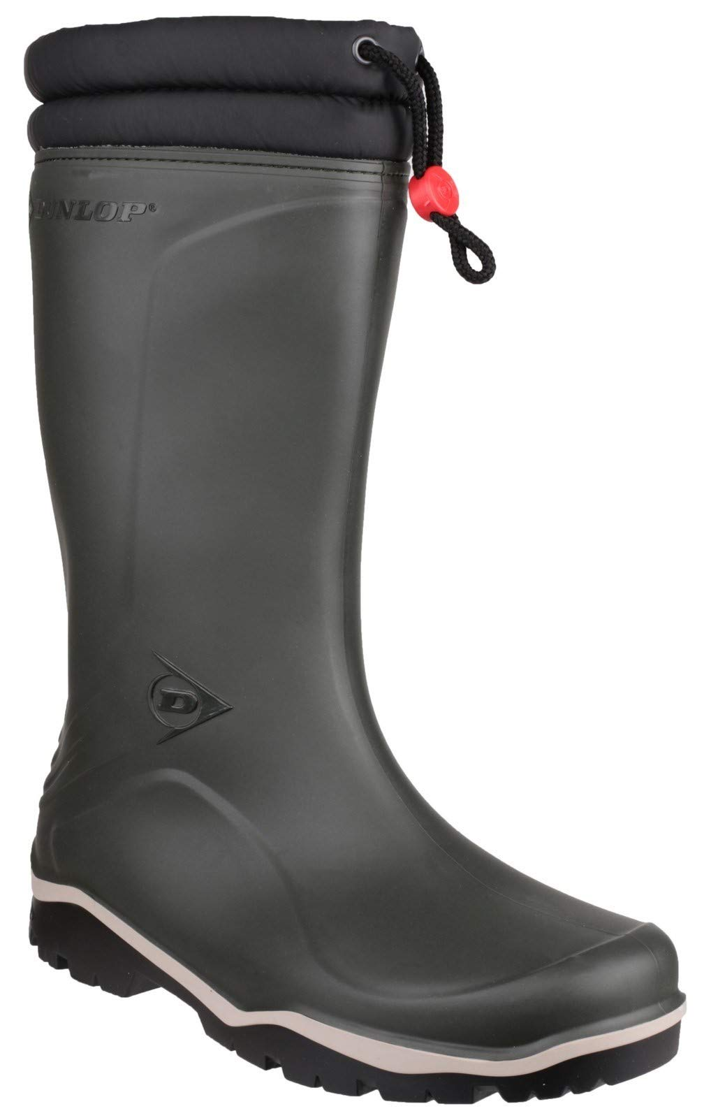 Dunlop Men's Blizzard Wellington Boot | Green | UK 10.5 | EU 45 by Dunlop