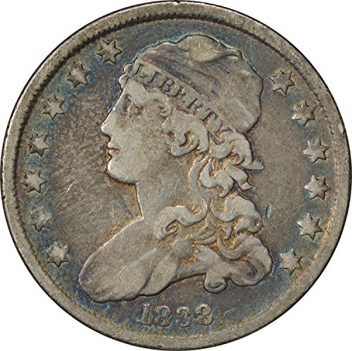 1838 Bust Quarter VF