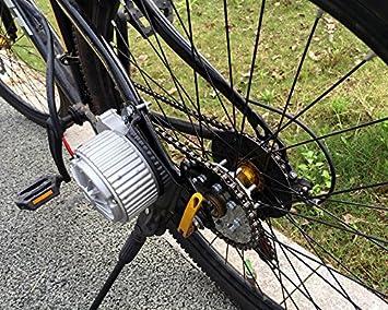 roue de bicyclette a constitu/é la cha/îne de v/élo pignons de la roue arri/ère gauche de notre trousse de conduire 16t freewheel avec adaptateur pour my1016z automobiles
