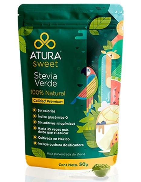 Stevia Natural 50g 100% hoja de stevia verde
