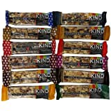 KIND Nuts & Spices IfqAW Bars, All Flavors Sampler Pack, 24 Count YdLgb