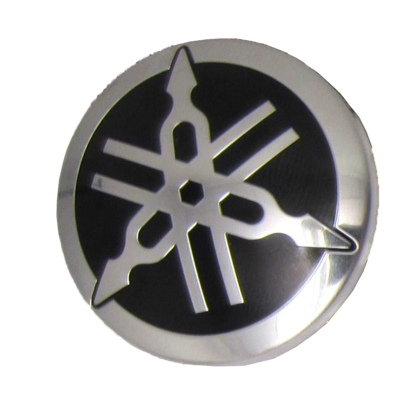 Yamaha ATV/PWC/UTV/Snowmobile Domed Emblem Tuning Fork Logo F1K-U411H-00-00; F1KU411H0000