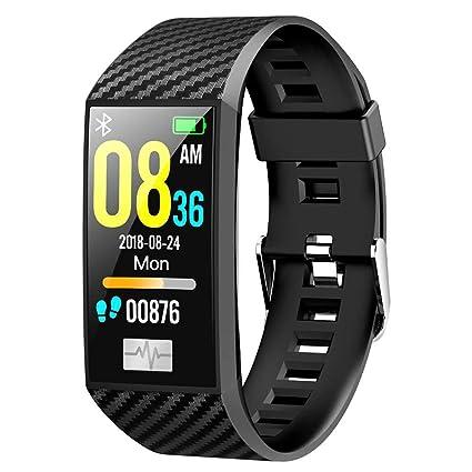 Amazon.com: DT58 Pulsera inteligente ECG monitor de presión ...