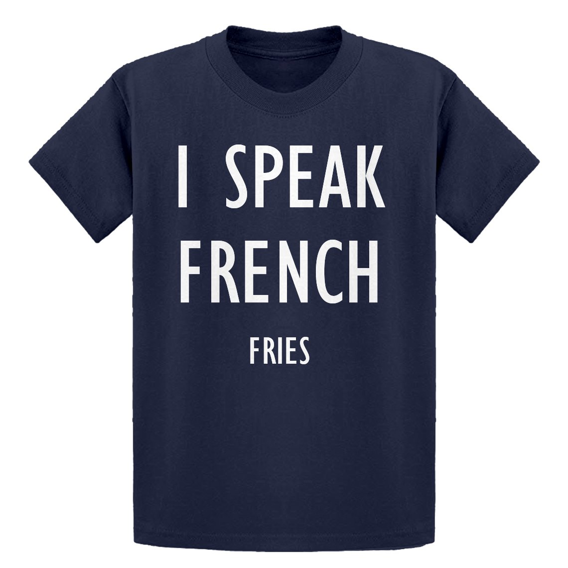 Indica Plateau Youth I Speak French Fries Kids T-Shirt