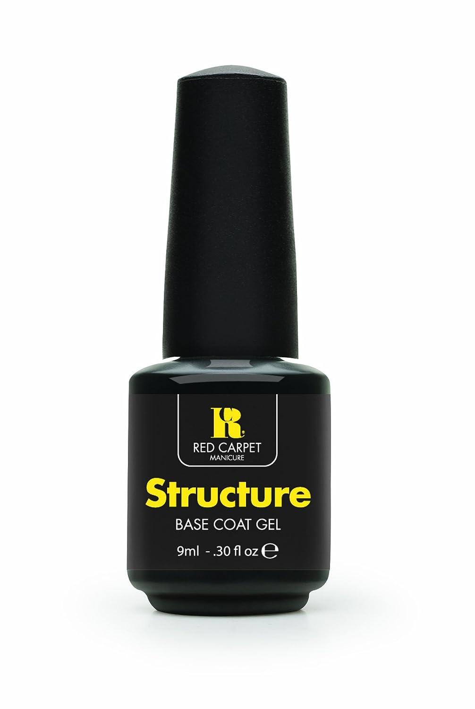 Amazon.com : Red Carpet Manicure Structure Base Coat Gel, 0.30 Ounce ...