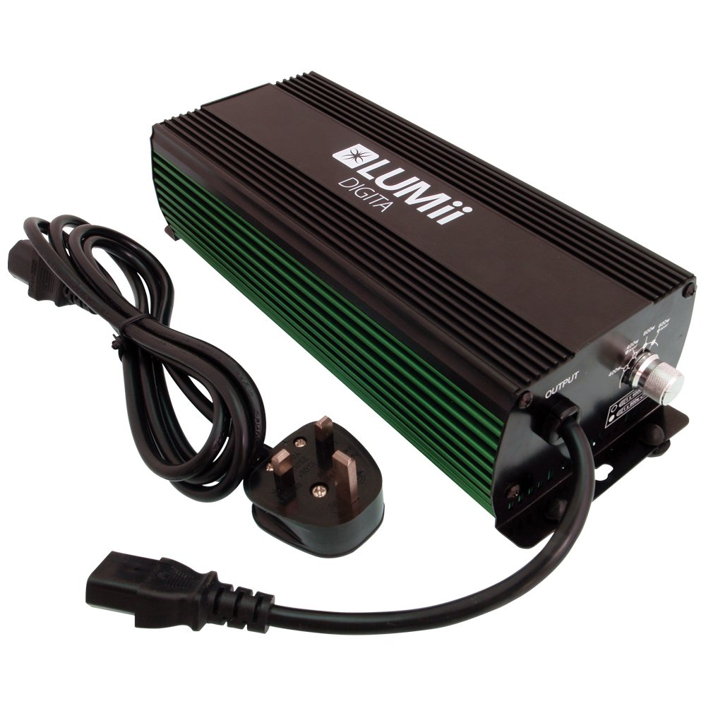 Hydrogarden LUMii Digita 1000W Dimmable Ballast